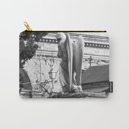 ancient angel on the memorial Carry-All Pouch