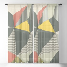 Bauhaus Sheer Curtain
