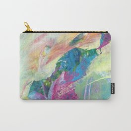 """Palette knife painting """"Wind Symphony"""" 1 Carry-All Pouch"""