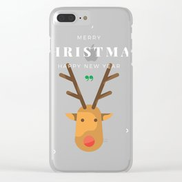 christmas 6 Clear iPhone Case