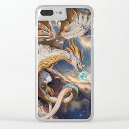 Sky Dragon Clear iPhone Case