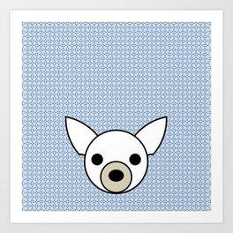Pop Dog Chihuahua Art Print