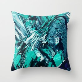 Phase Me Mat Throw Pillow