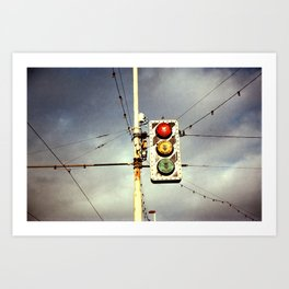 Collection Point Art Print