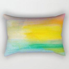 Ocean Sunrise Series 2 Rectangular Pillow