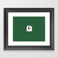 BLANKM GEAR - GREEN PEACE Framed Art Print