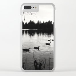 Lost Lagoon Clear iPhone Case