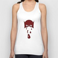 hero Tank Tops featuring Hero by PingPongPrints