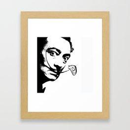 The Artist's Clock Framed Art Print