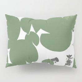 Summer fish pond with lily pads Pillow Sham