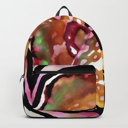 Line and circle Backpack