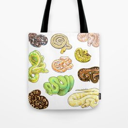 Snakes Tote Bag