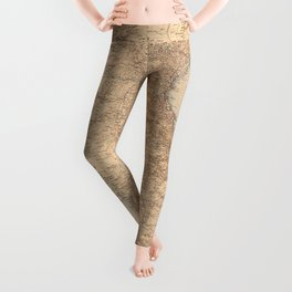 Map of Indochina (1895) Leggings