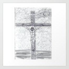 I preach Christ & Christ Crucified Art Print