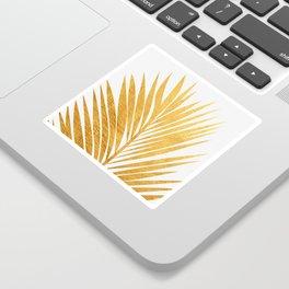 Golden leaf III Sticker