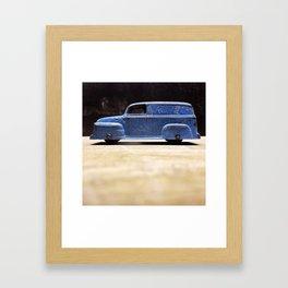 vroom. Framed Art Print