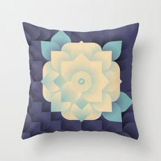 Floral Dream 3 Throw Pillow