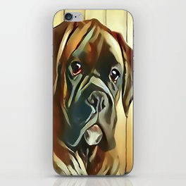 The Boxer Pup iPhone Skin
