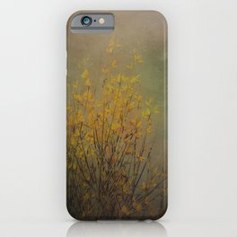 Vintage flowering bloom iPhone Case