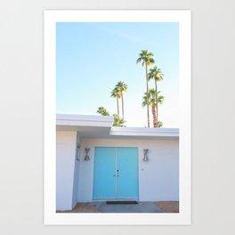 PS, Blue Door 1 Art Print