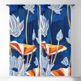 Bold Botanical Blackout Curtain