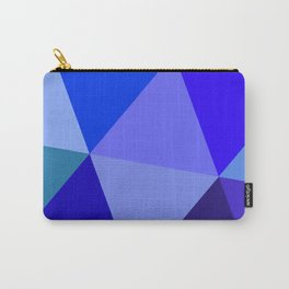 Prismatika Shades of Blue Carry-All Pouch