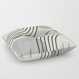 Sun Arch Double - Grey Floor Pillow