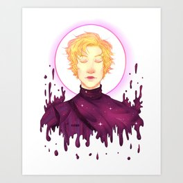 Captain of the Galaxy Art Print
