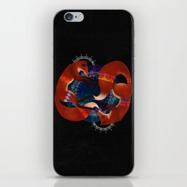 Space Foxes iPhone Skin