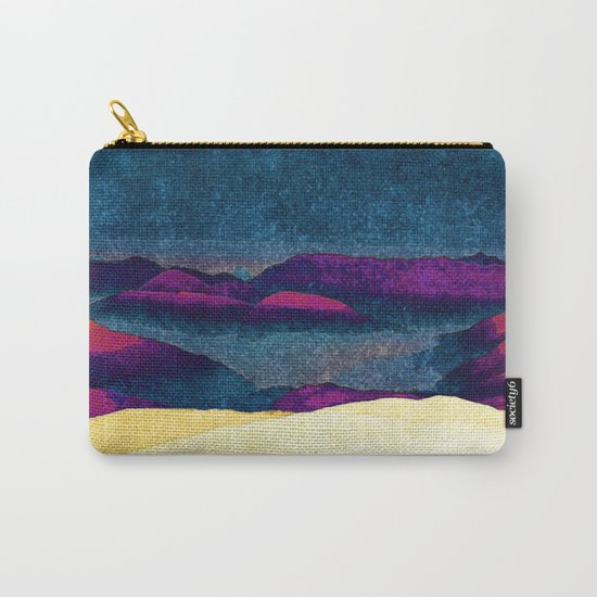 Colorful Mountains Landscape Carry-All Pouch