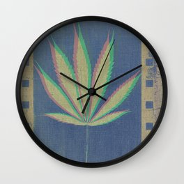 The Plant Wall Clock