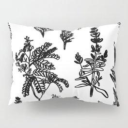 fleur noir Pillow Sham