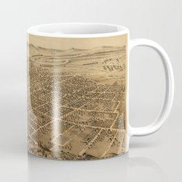 Map Of Kalamazoo 1874 Coffee Mug