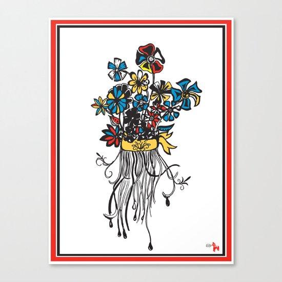 Bouquet - Skal Canvas Print