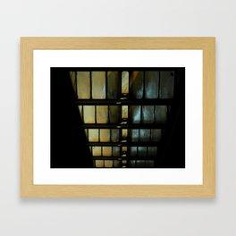 descending Framed Art Print