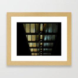 descending Framed Art Print