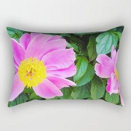 City Flowers 1 Rectangular Pillow