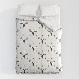 Holiday Raindeer and Stars Comforters