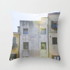 Building Up - Italy Throw Pillow