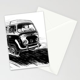 at full speed Stationery Cards