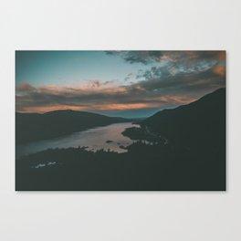 Columbia River Gorge Sunset Canvas Print