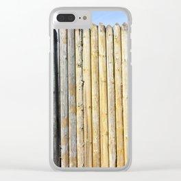 stockade Clear iPhone Case