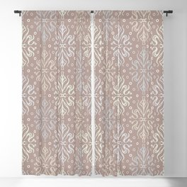 Luxury Vintage Pattern 4 Blackout Curtain