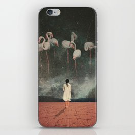 Hanging on to a Dream iPhone Skin