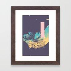 Purpura Lafo Framed Art Print