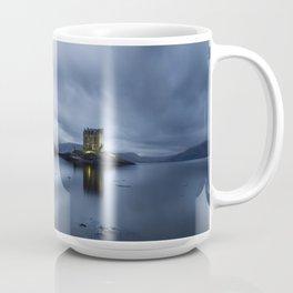 Scotland Dusk at Castle Stalker Coffee Mug