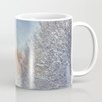 blanket Mugs featuring White Blanket by Dirk Wuestenhagen Imagery