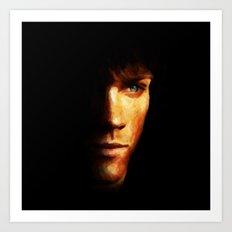 Sam Winchester / Supernatural - Painting Style Art Print