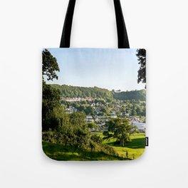 Lyme Regis Landscape Tote Bag