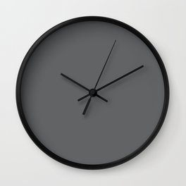 Simply Storm Gray Wall Clock